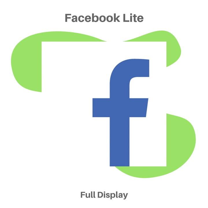 Aplikasi Sosial Media Facebook Lite