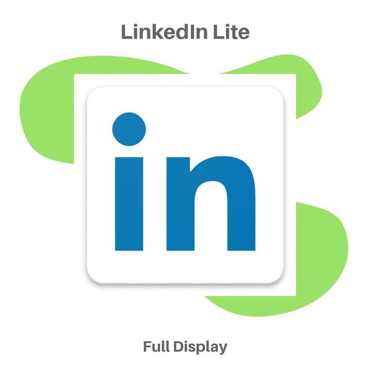 Aplikasi Sosial Media LinkedIn Lite