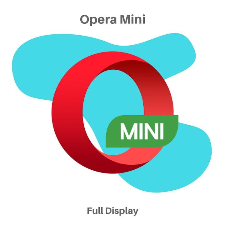 Aplikasi Browser Opera Mini