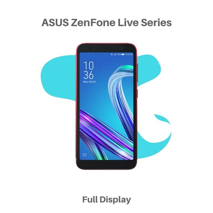HP ASUS ZenFone Live Series Terbaru Harga Spesifikasi