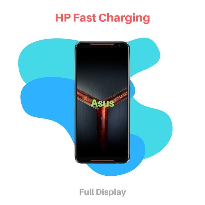 HP Fast Charging Asus