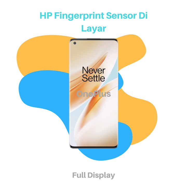 HP Fingerprint Sensor Di Layar OnePlus