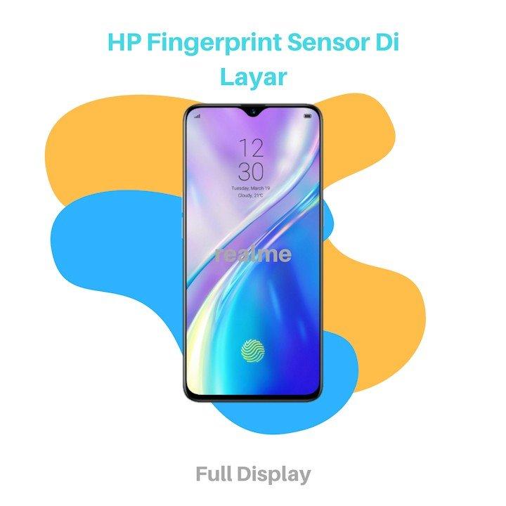 HP Fingerprint Sensor Di Layar Realme