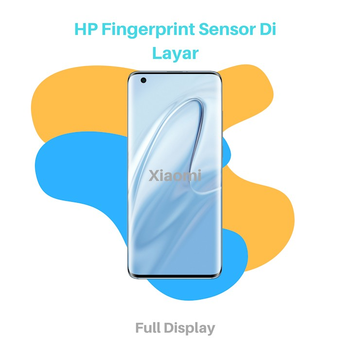 HP Fingerprint Sensor Di Layar Xiaomi