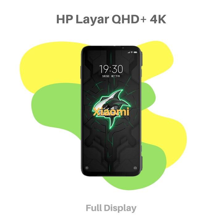 HP Layar QHD Plus 4K Xiaomi