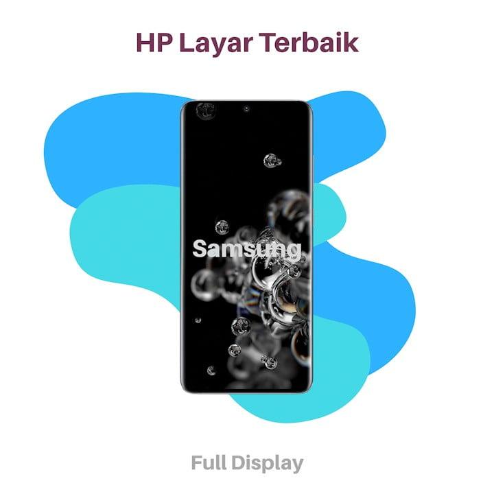HP Full Screen Layar Terbaik Samsung