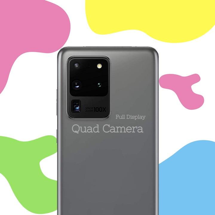 HP Quad Camera 4 Kamera