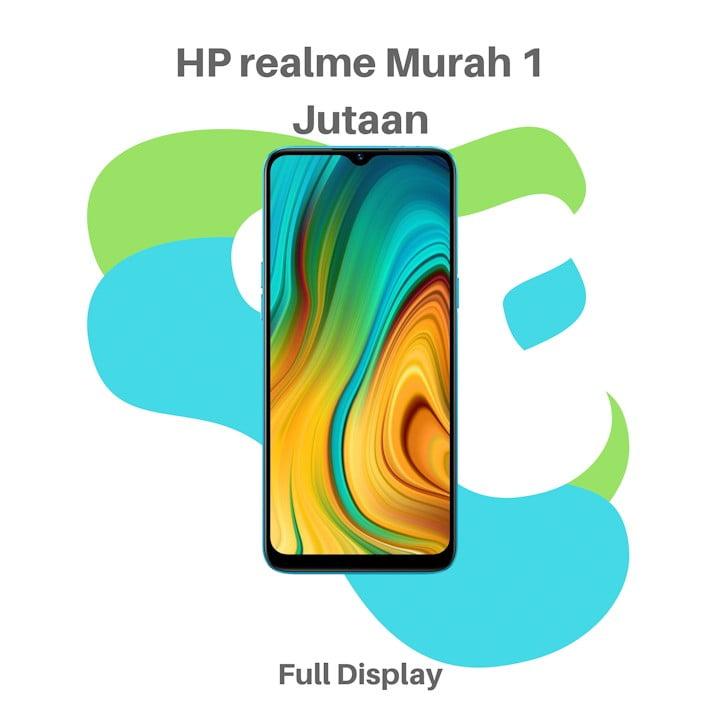HP realme Murah 1 Jutaan