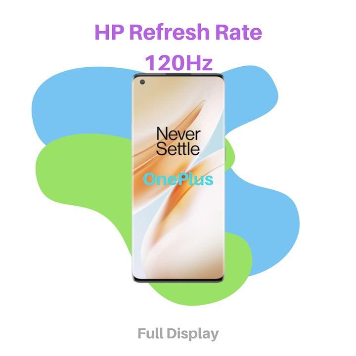 HP Dengan Refresh Rate Layar 120 Hz OnePlus