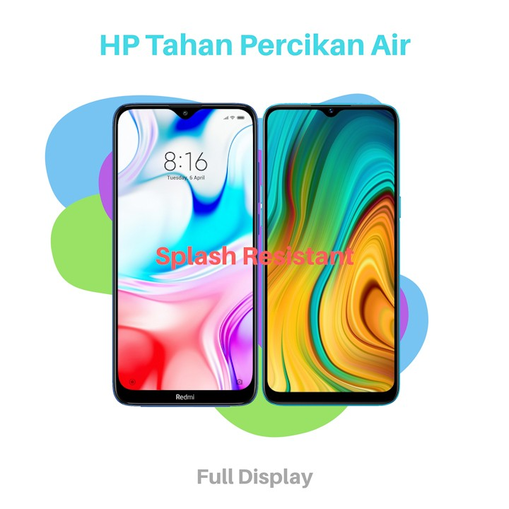HP Tahan Percikan Air Splash Resistant