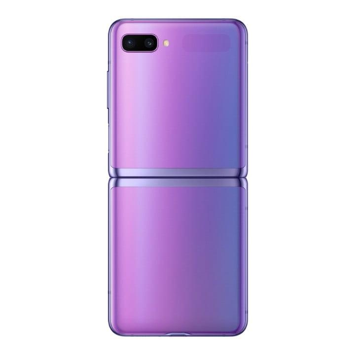 Samsung Galaxy Z Flip Harga Dan Spesifikasi Back