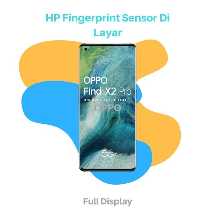HP Fingerprint Sensor Di Layar OPPO