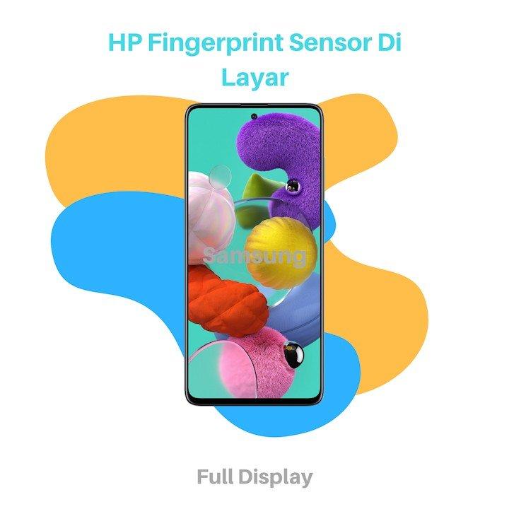 HP Fingerprint Sensor Di Layar Samsung