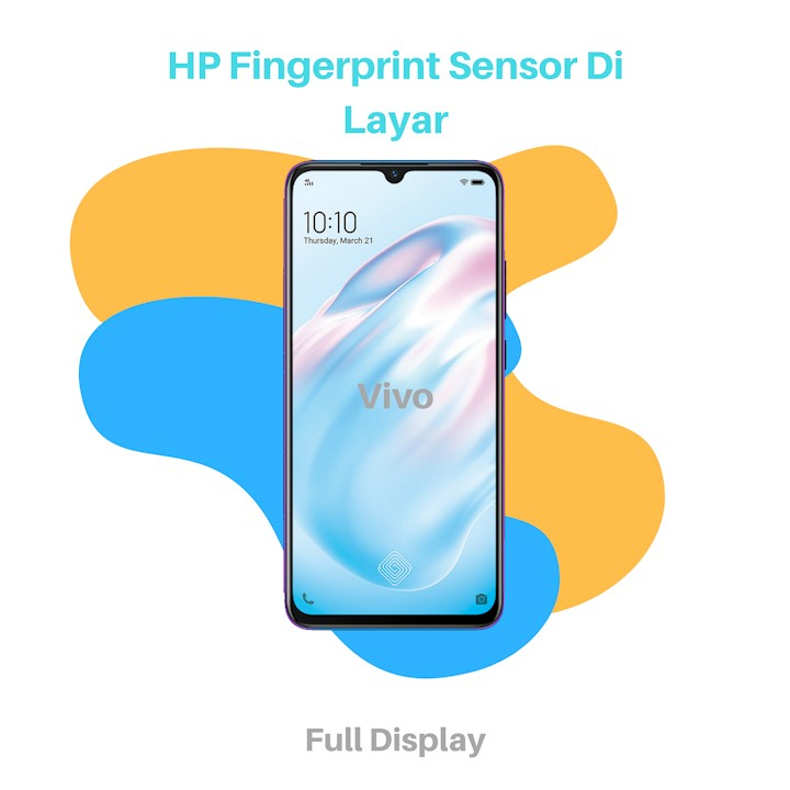 HP Fingerprint Sensor Di Layar vivo