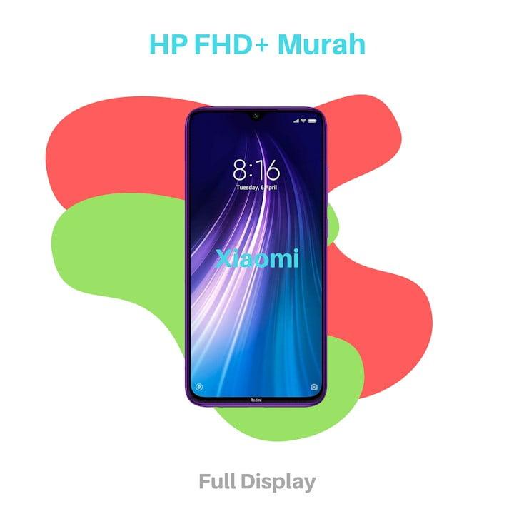 HP dengan Layar Full HD Plus Murah Xiaomi