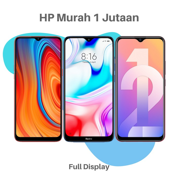 HP Murah 1 Jutaan 2 Jutaan Terbaik