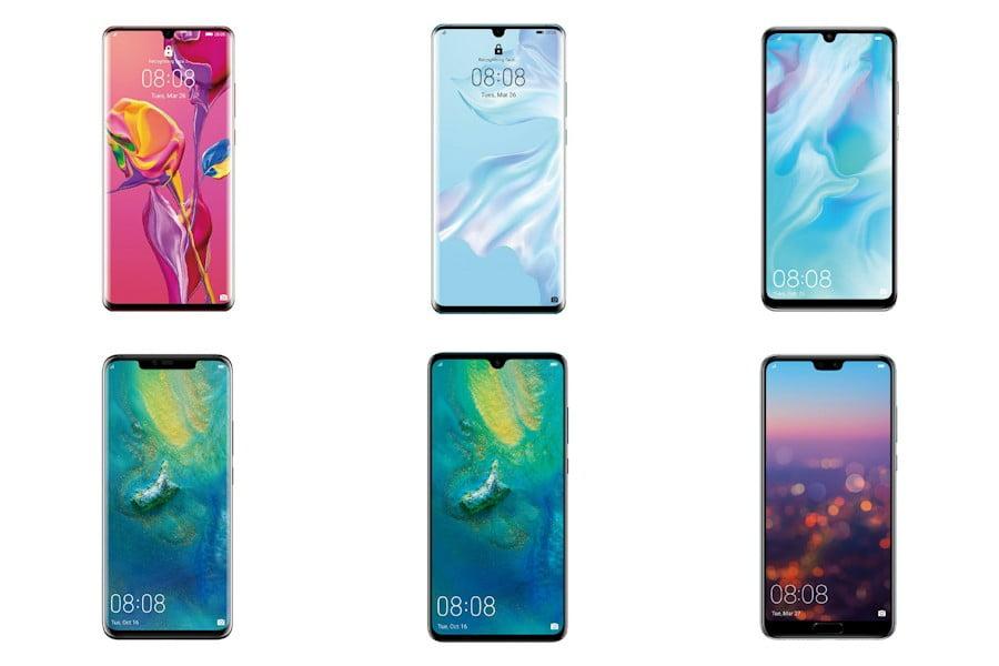 Gambar Daftar Harga HP Huawei Full Display
