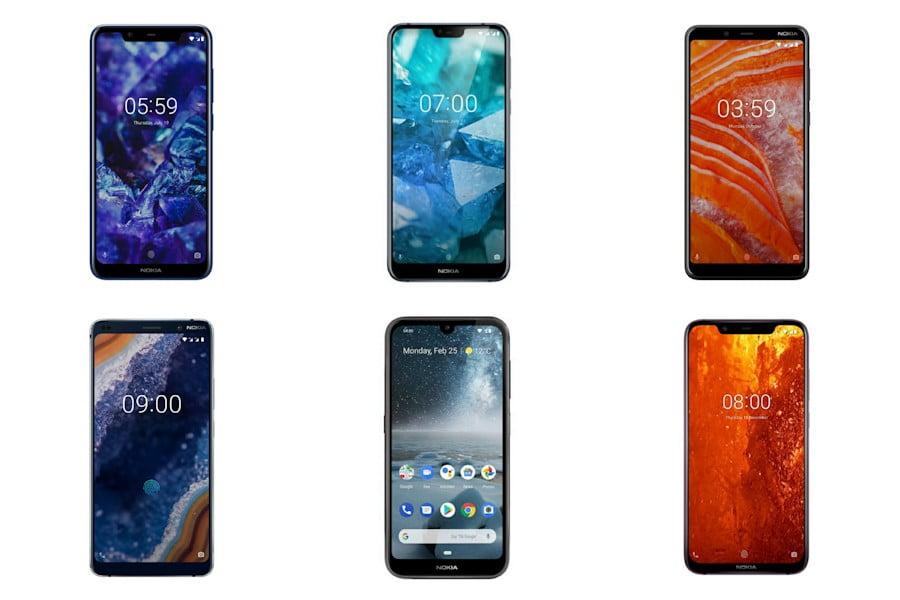 Gambar Daftar Harga HP Nokia Full Display