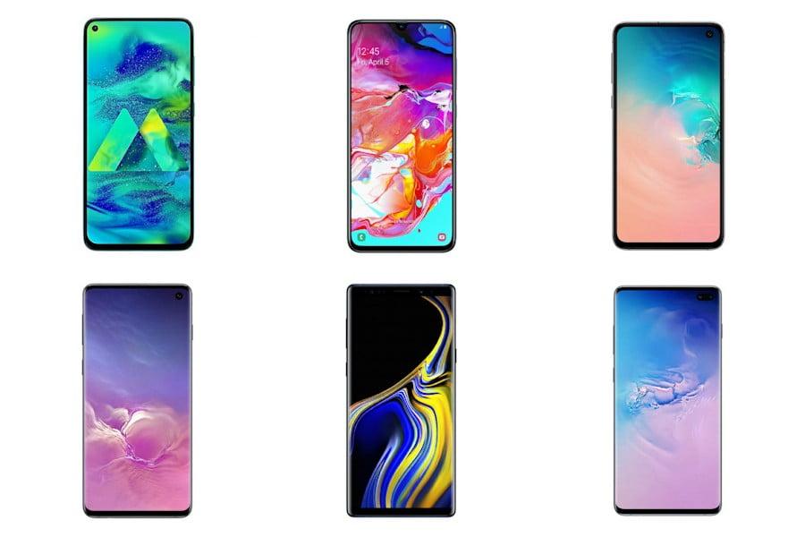 Gambar Daftar Harga HP Samsung Full Display