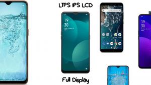 HP dengan Layar LTPS IPS LCD