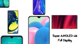 HP dengan Layar Super AMOLED
